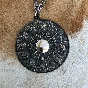 ASTROLOGICAL signs necklace by Napier
